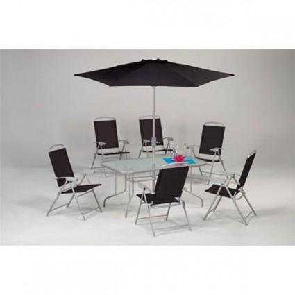 Muebles de jardin outlet en mueble de jardin ofertas for Mesa 5 posiciones