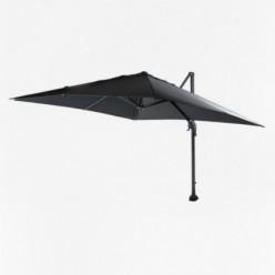 Parasol de terraza péndulo 3x3 gris
