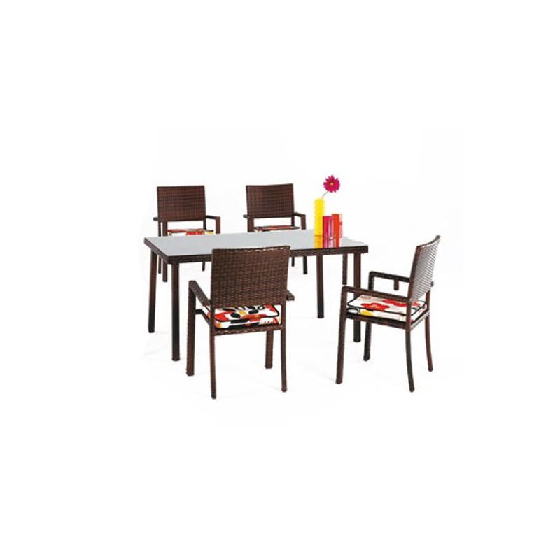 Venta online de muebles de exterior ofertas en muebles for Conjunto mesa y sillas jardin oferta
