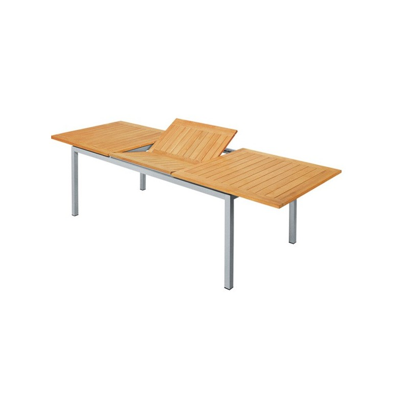 mesa teka extensible de terraza esential
