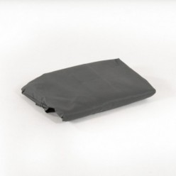 Tela recambio de color gris para parasol péndulo 3 x 3 cm