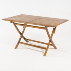 Mesa para jardín rectangular Sara 140