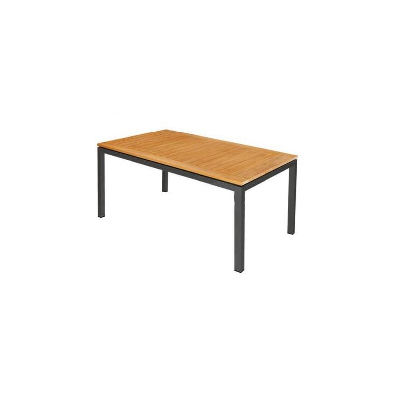 Mesa de aluminio de exterior tienda online de mobiliario for Mesa exterior terraza