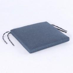 Cojín asiento para exterior olefín azul