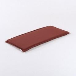 Cojín para banco 110 cm olefin rojo