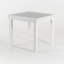 Mesa para terraza extensible Laver 80/160