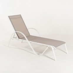 Tumbona para jardín reclinable Laver