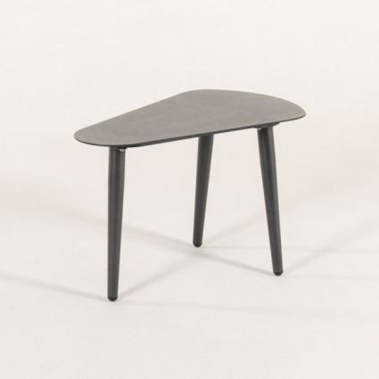 Mesa irregular estilo cerámica color Antracita para jardín