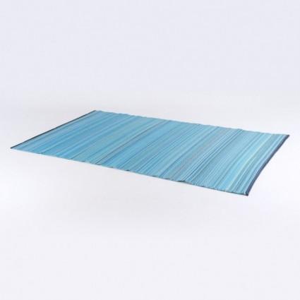 Alfombra para exterior 150x240 cm Weaver azul y verde