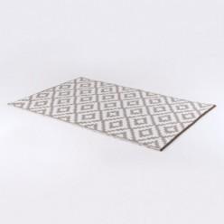Alfombra de exterior 150x240 cm Nirvana blanco y taupe