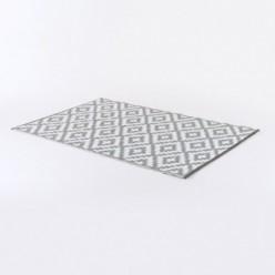 Alfombra para exterior 150x240 cm Nirvana color blanco y gris