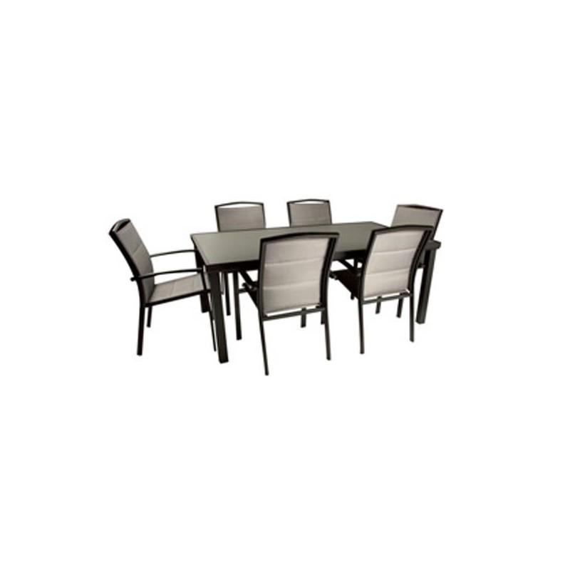 Mesa de jardin online outlet en mesas de fibra ofertas for Conjunto mesa y sillas jardin oferta