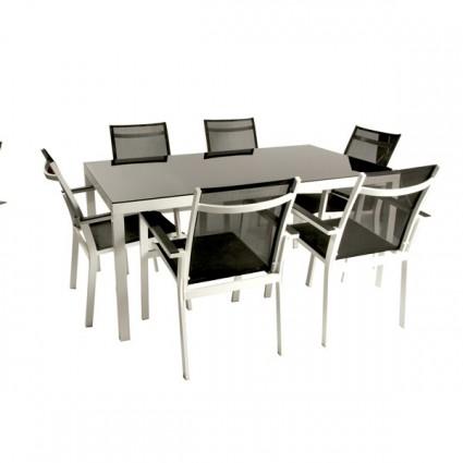 Conjunto de exterior augusta - Conjunto mesa y sillas exterior ...