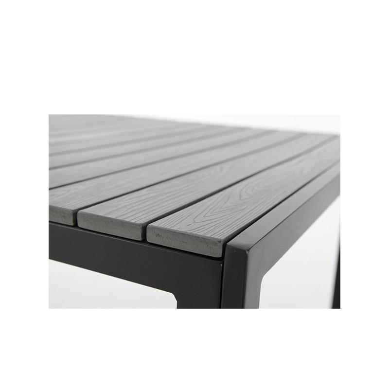 Mesa de exterior y resina 80 marstal for Mesas y sillas para jardin exterior