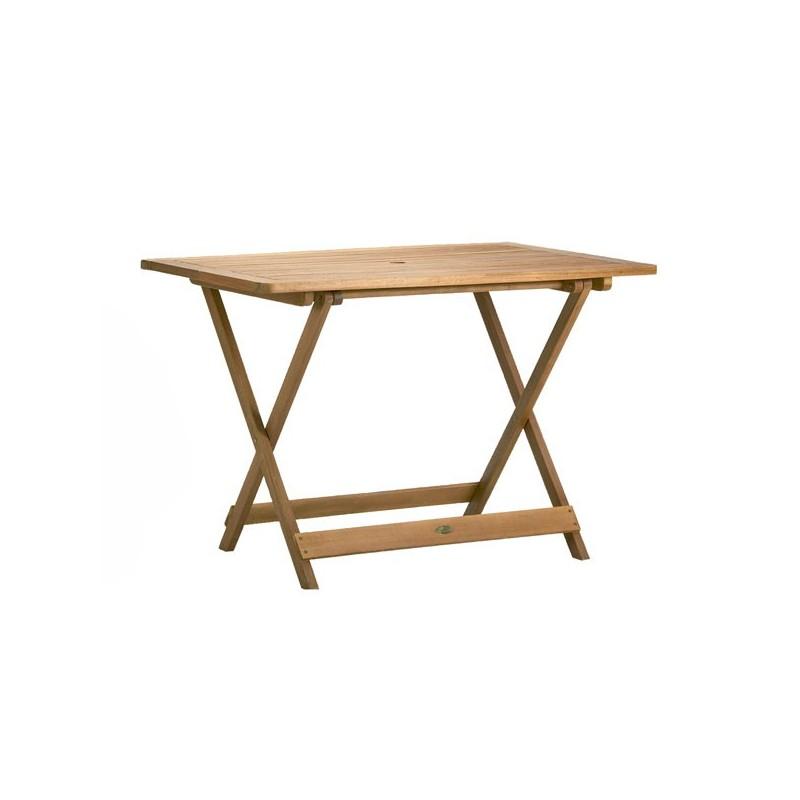 Mesa para exterior de madera tropical 125 texas - Mesas de madera exterior ...