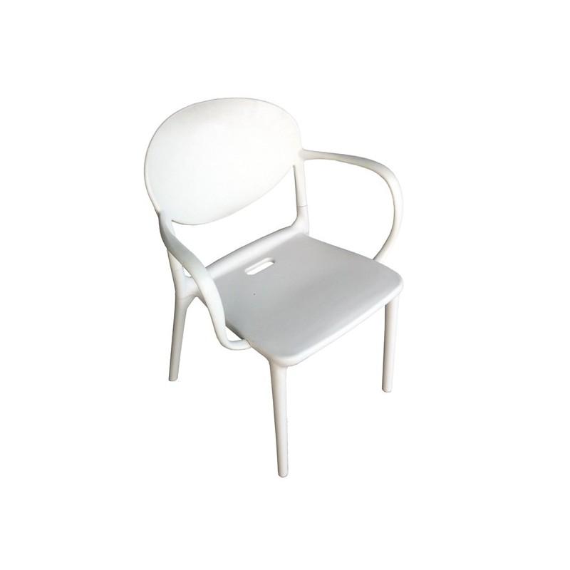 Sillon para jard n maryland for Muebles exterior aluminio blanco