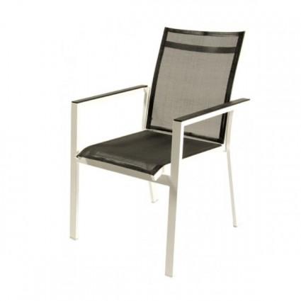 Sillon exterior blanco augusta for Outlet muebles jardin