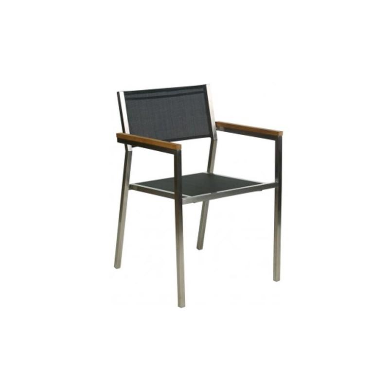 Sillon acero inoxidable nueva york for Muebles de jardin de aluminio precios