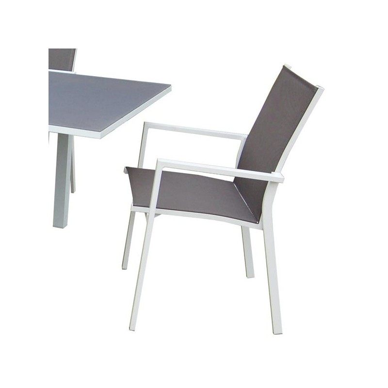 Sillon de jardin wyoming for Aluminio productos de fundicion muebles de jardin