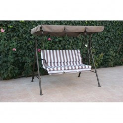Balancín metálico y textilene Gardening