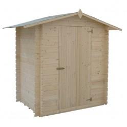 Caseta jardín madera