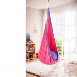 Hamaca nido para niños lila Joki