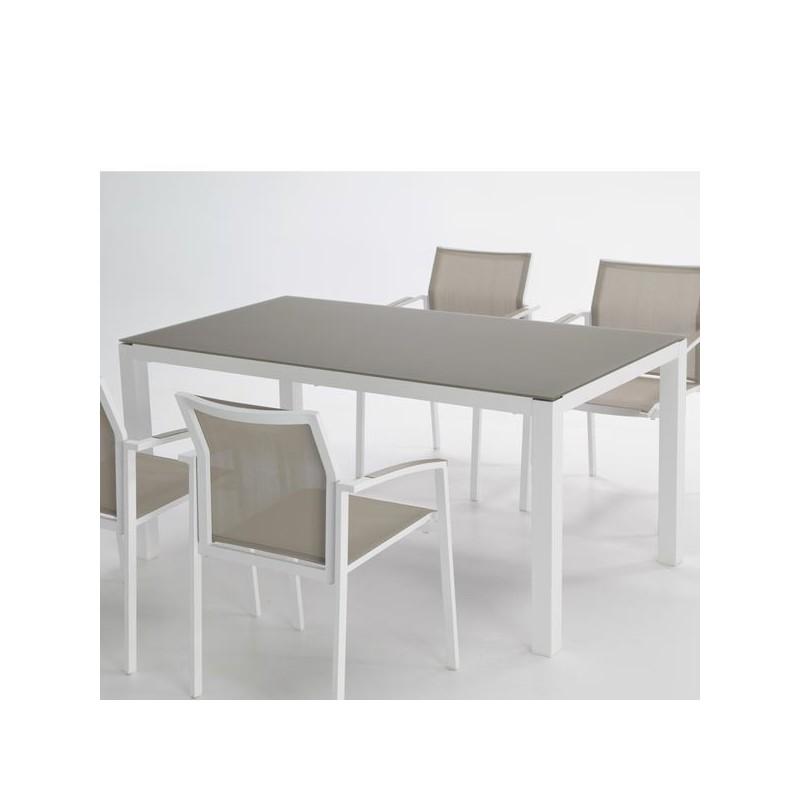 Mesas de aluminio de exterior baratas tienda online de for Mesas de terraza y jardin baratas