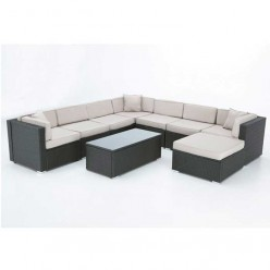 Conjunto sofá modular exterior Alabama