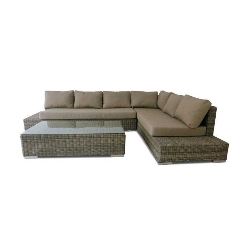 conjunto sofas para jardin fibra tucson