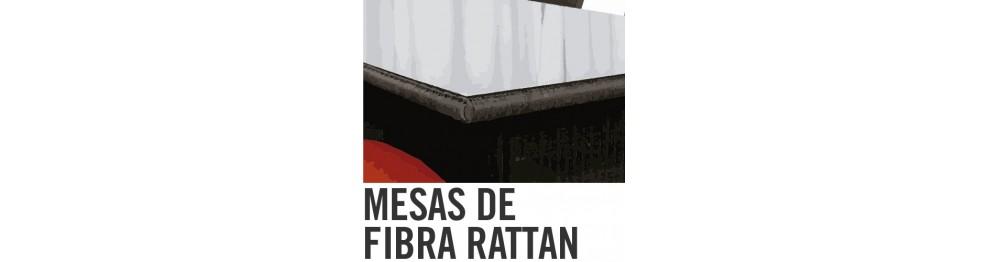 Mesas de Fibra Ratán
