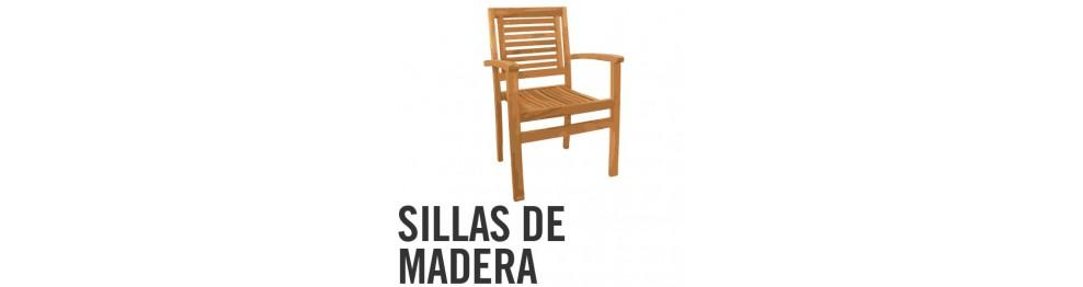 Sillas y sillones de Madera y Teka