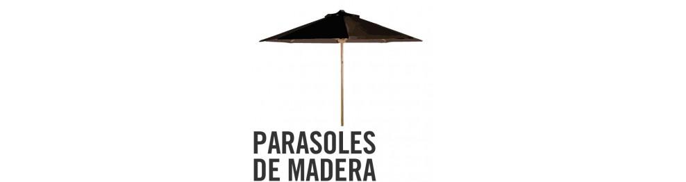 Parasoles de madera