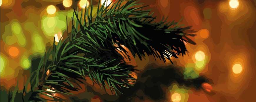 5 ideas para un árbol de Navidad ecofriendly