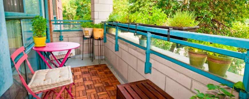 5 Tips para decorar una terraza pequeña o balcón