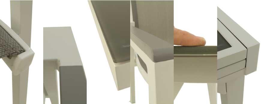 Laver aluminio blanco para muebles de jardin - Blog Tienda EDEN de ...