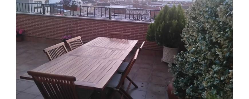 Cómo le quedan nuestros muebles de jardín a...