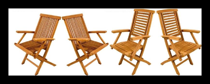 ¿Qué silla de jardín debo elegir?
