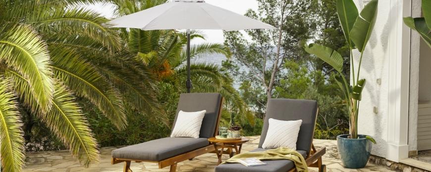 5 Claves para escoger el parasol perfecto para tu terraza o jardín